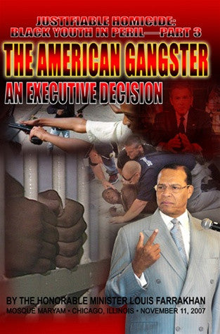 Justifiable Homicide: Black Youth in Peril Pt.3- American Gangster (DVD)