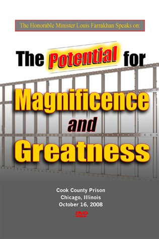 The Potential For Magnificence and Greatness (DVD)