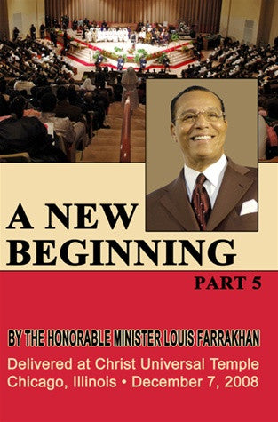 A New Beginning Pt.5 at Christ Universal Temple (DVD)
