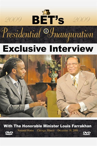 BET's Jeff Johnson Interview With the Honorable Louis Farrakhan (DVD)