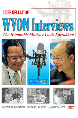 WVON Interview with Cliff Kelley