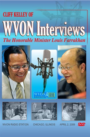 WVON Interview/Discussion with Cliff Kelley (DVD)