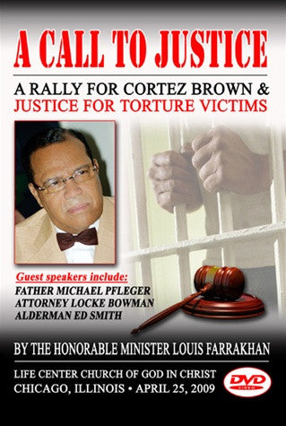 Call to Justice for Cortez Brown and Justice for Torture Victims
