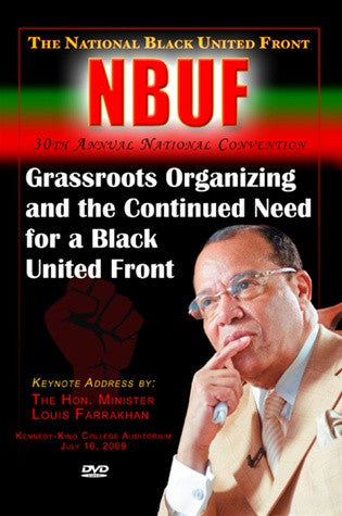 Grassroots Organizing and the Continued Need for A Black United Front