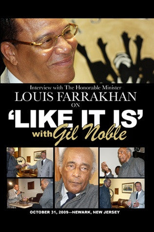 Gil Noble Interview With the Honorable Minister Louis Farrakhan (DVD)