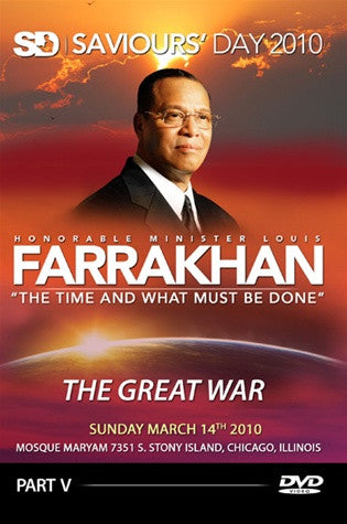 The Time and What Must Be Done; The Great War (DVD)