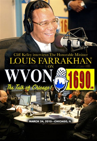 Cliff Kelley Interviews The Honorable Minister Louis Farrakhan On WVON