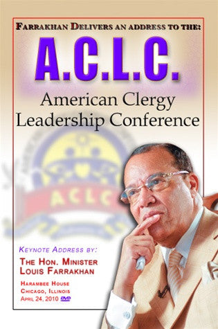 Address To The:A.C.L.C.-American Clergy Leadership Conference (DVD)