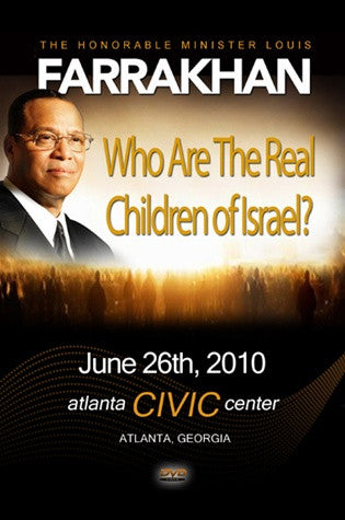 Who Are The Real Children Of Israel? (DVD)