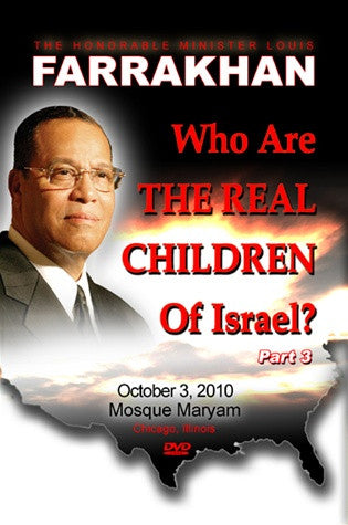 Who Are The Real Children Of Israel Pt. 3