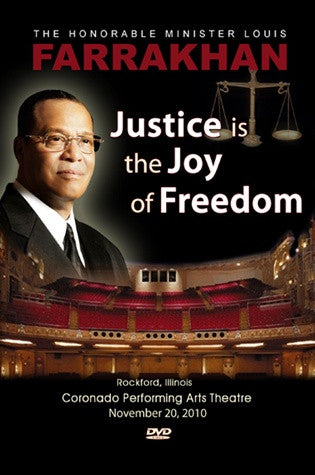 Justice Is The Joy Of Freedom