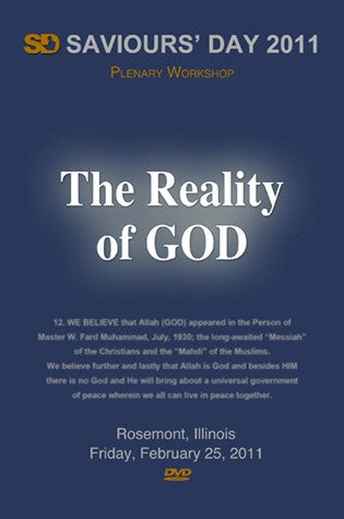 The Reality Of God Workshop (DVD)