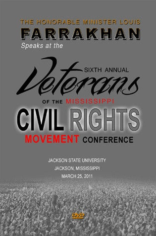 Sixth Annual Veterans Of The Mississippi Civil Rights Movement Conference