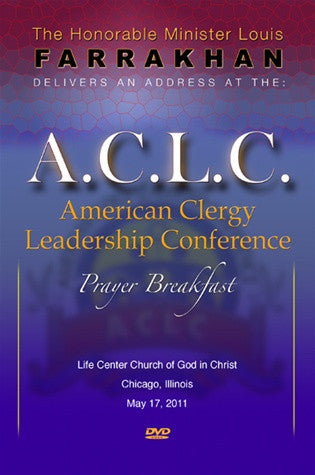 American Clergy Leadership Conference Prayer Breakfast 2011