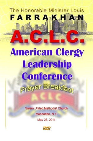 American Clergy Leadership Conference Prayer Breakfast (DVD)