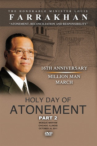 2011 Atonement, Reconciliation, And Responsibility Part 2 (DVD)
