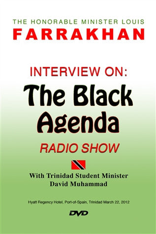 Interview On: The Black Agenda Radio Show (DVD)