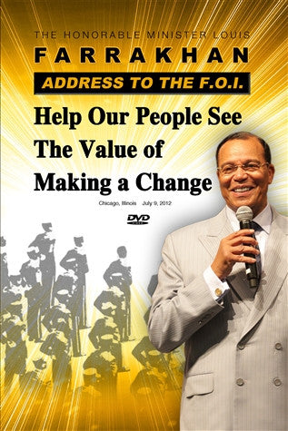 Help Our People See The Value of Making a Change (DVD)
