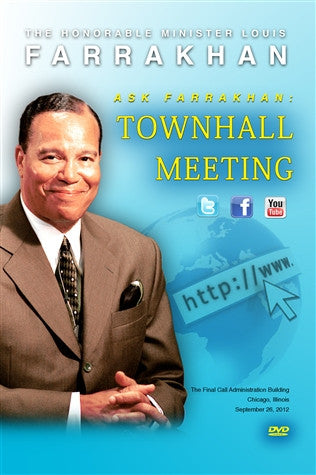 Ask Farrakhan: Townhall Meeting (DVD)