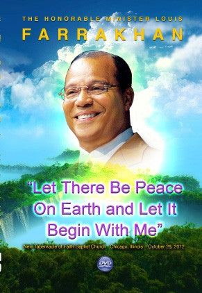 Let There Be Peace On Earth And Let It Begin With Me