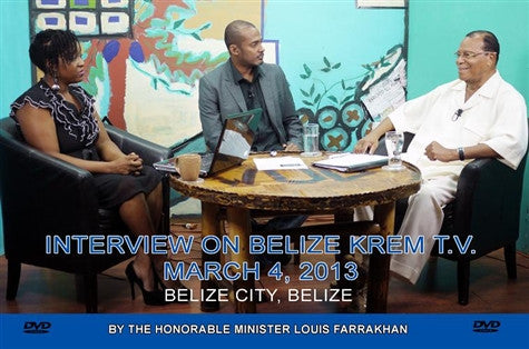 Interview On Belize KREM T.V. (DVD)