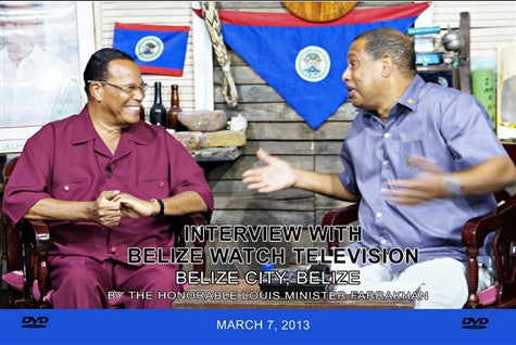 Interview With Belize Watch Television (DVD)