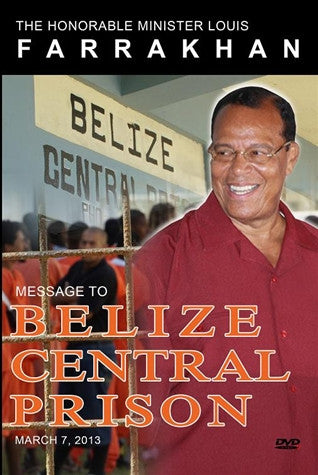 Message To Belize Central Prison (DVD)