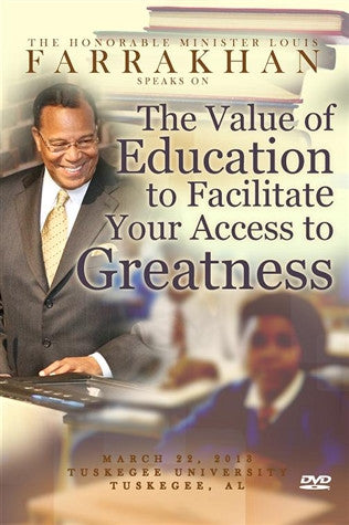 The Value Of Education To Facilitate Your Access To Greatness (DVD)