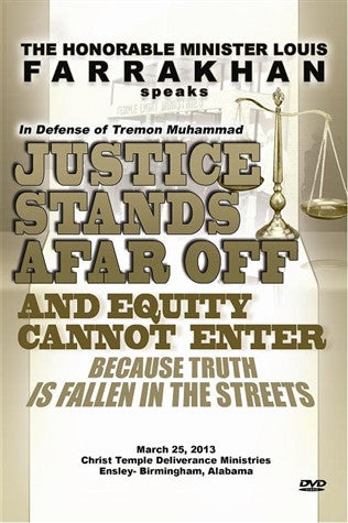 Justice Stands Afar Off And Equity Cannot Enter Because Truth Is Fallen In The Streets (DVD)