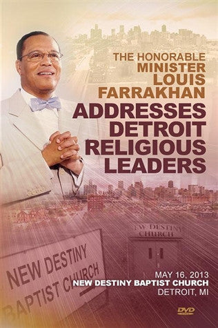 Address To The Detroit Religious Leaders (DVD)