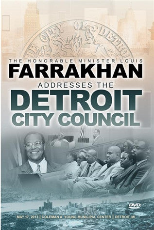 Address To The Detroit City Council (DVD)
