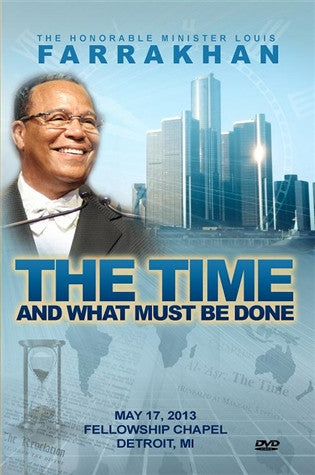 The Time And What Must Be Done, Detroit