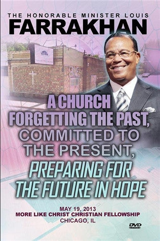 A Church Forgetting The Past, Committed To The Present, Preparing For The Future In Hope