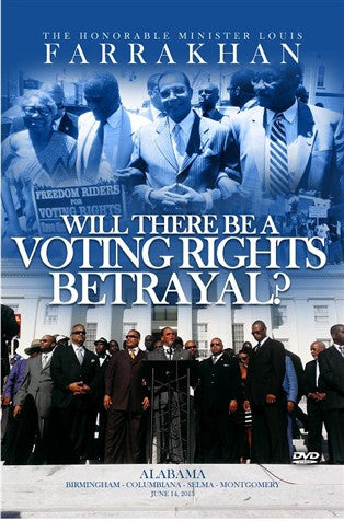 Will There Be A Voting Rights Betrayal?