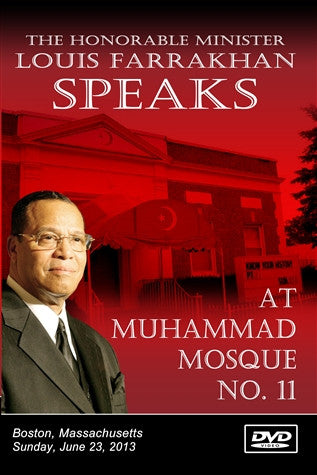 The Honorable Minister Louis Farrakhan Speaks At Mosque No. 11