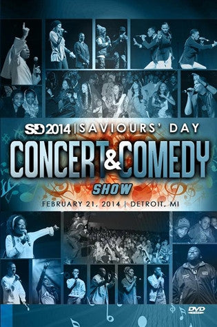 2014 Saviours' Day Concert & Comedy Show (DVD)