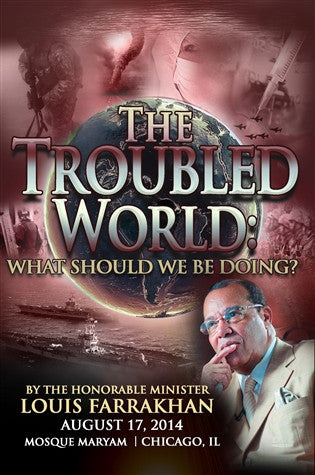 The Troubled World: What We Should be Doing?