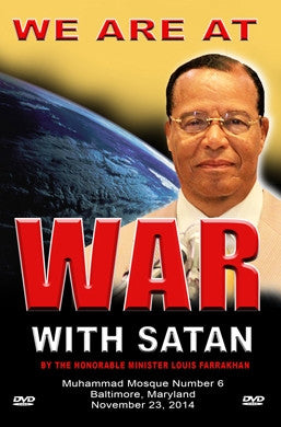 We Are At War With The World Of Satan