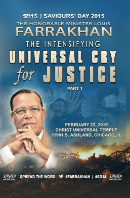 Saviours' Day 2015: The Intensifying Universal Cry for Justice (DVD)