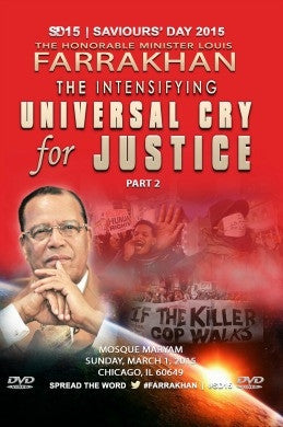 Saviours' Day 2015 Pt. 2: The Intensifying Universal Cry for Justice (DVD)