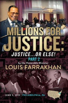 Millions for Justice : Justice or Else! Pt. 2   (DVD)