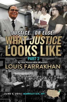 What Justice Looks Like : Justice or Else! Pt. 3 (DVD)