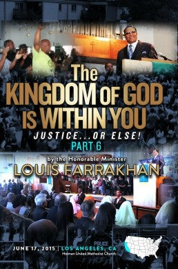 Justice or Else! Pt. 6: The Kingdom of God is Within You (DVD)