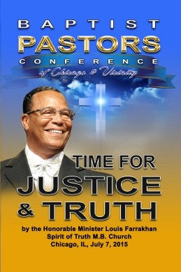 Time for Justice & Truth: Baptist Pastor's Conference of Chicago & Vicinity