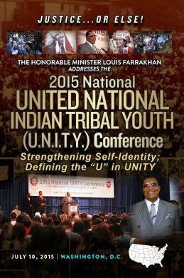 "Justice Or Else! The 2015 National U.N.I.T.Y. Conference: Strengthening Self-Identity: Defining the ""U"" in Unity  (DVD)"