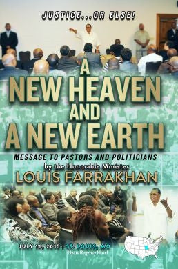 Justice Or Else! A New Heaven and A New Earth