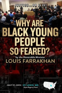 Justice Or Else! Why Are Black Young People So Feared?