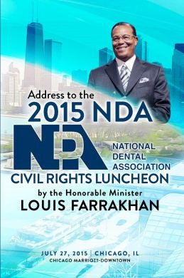 Justice Or Else! Addresses The National Dental Association: Civil Rights Luncheon