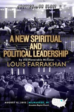 Justice Or Else! A New Spiritual and Political Leadership (Message to The Milwaukee City Leadership) (CD)