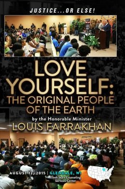 Justice Or Else!: Love Yourself - The Original People of The Earth (DVD)
